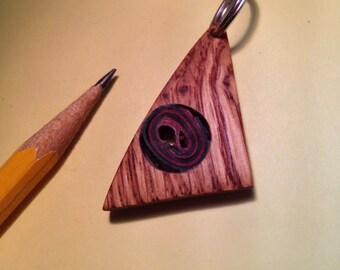 Oak Swirl Pendant
