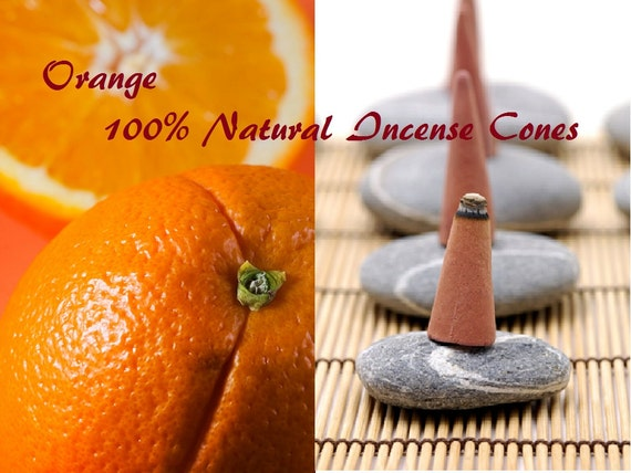 Outrageous Orange All Natural Artisan Incense