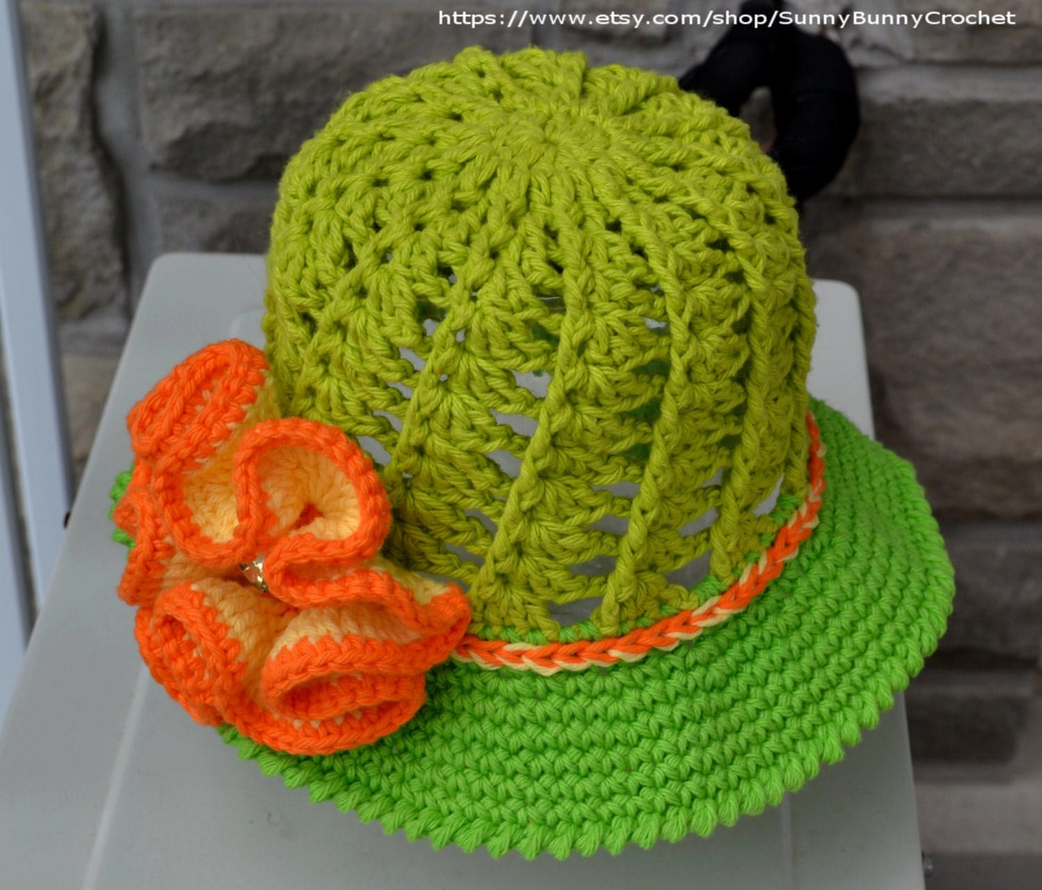 Free Crochet Pattern For Childs Owl Hat : SUN HAT PATTERN Crochet Hat Pattern Child Hat Crochet