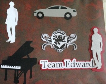 Team Edward Scrapbook 5 Piece Set
