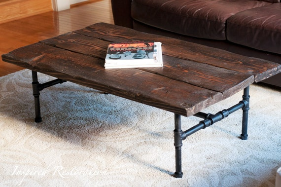 Captivating Items Similar To Industrial Pipe Coffee Table On Etsy