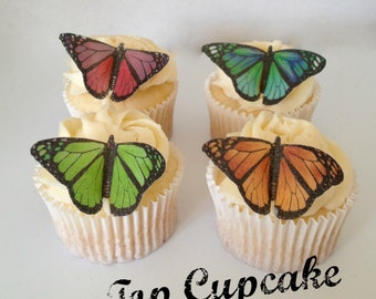 Bright and Beautiful Edible Butterflies