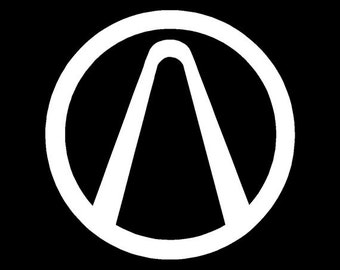 "Borderlands Vault Symbol 4.5"" Vinyl Decal Widow Sticker for Car, Truck, Motorcycle, Laptop, Ipad, Window, Wall, ETC"