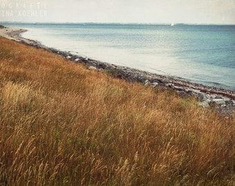 BALTIC SEA photography print, dreamy beach photography,  8x12