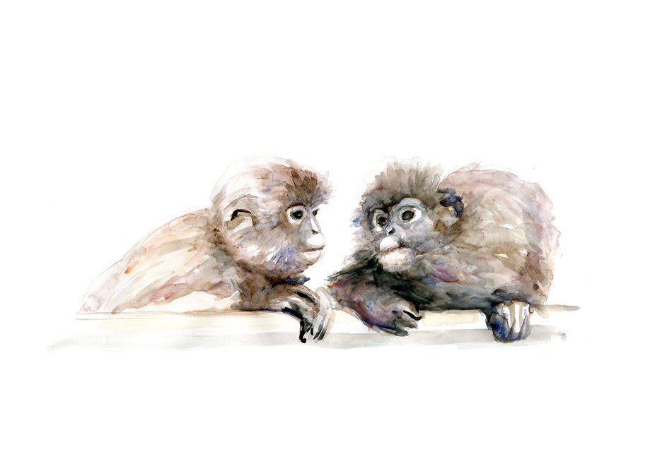 Two Monkeys in Love Two Monkeys in Love