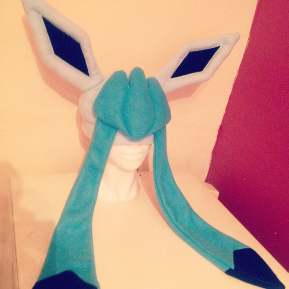 glaceon fleece hat by - photo #12