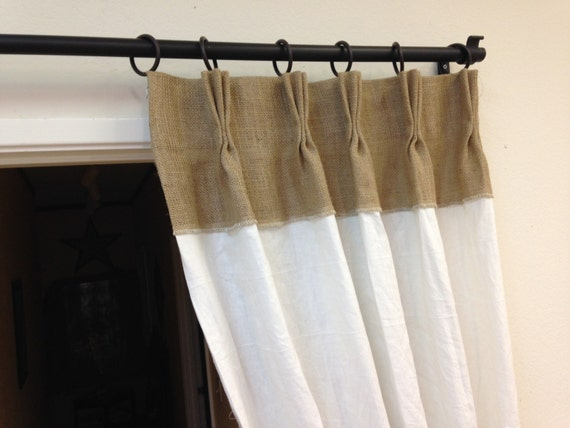 84 linen curtains burlap curtains pinch pleat panels. Black Bedroom Furniture Sets. Home Design Ideas