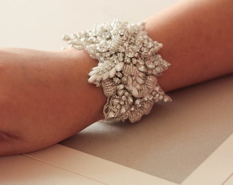 Bridal bracelet Zulu ( Made to Order)