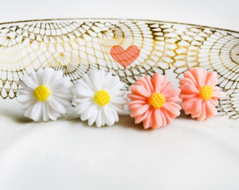 2erpack - flowers dream earrings - Daisy