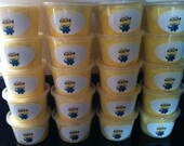 Minion Cotton Candy tubs (qty - 12) / dispicable me