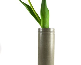 Concrete Vase. Cement Vase. Bud Vase. Flower Vase.