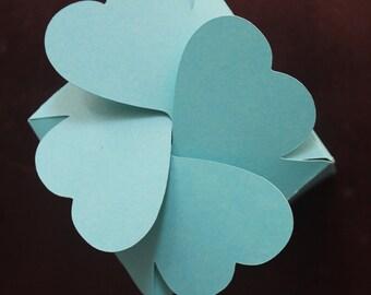 Heart gift box (Caja Corazon) SVG,DXF,PDF,.Studio Digital Files