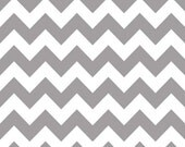 "Reserved for firstcrushdesigns - PRIORITY SHIPPING - Riley Blake 1 yard 29""Gray Medium Chevron AND  1 1/2 yards Navy Small Chevron"