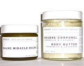 ORGANIC SPA GIFT Set for Irritated Skin // Organic Skin Care. 100% Natural Handcrafted / Free Gift Wrapping