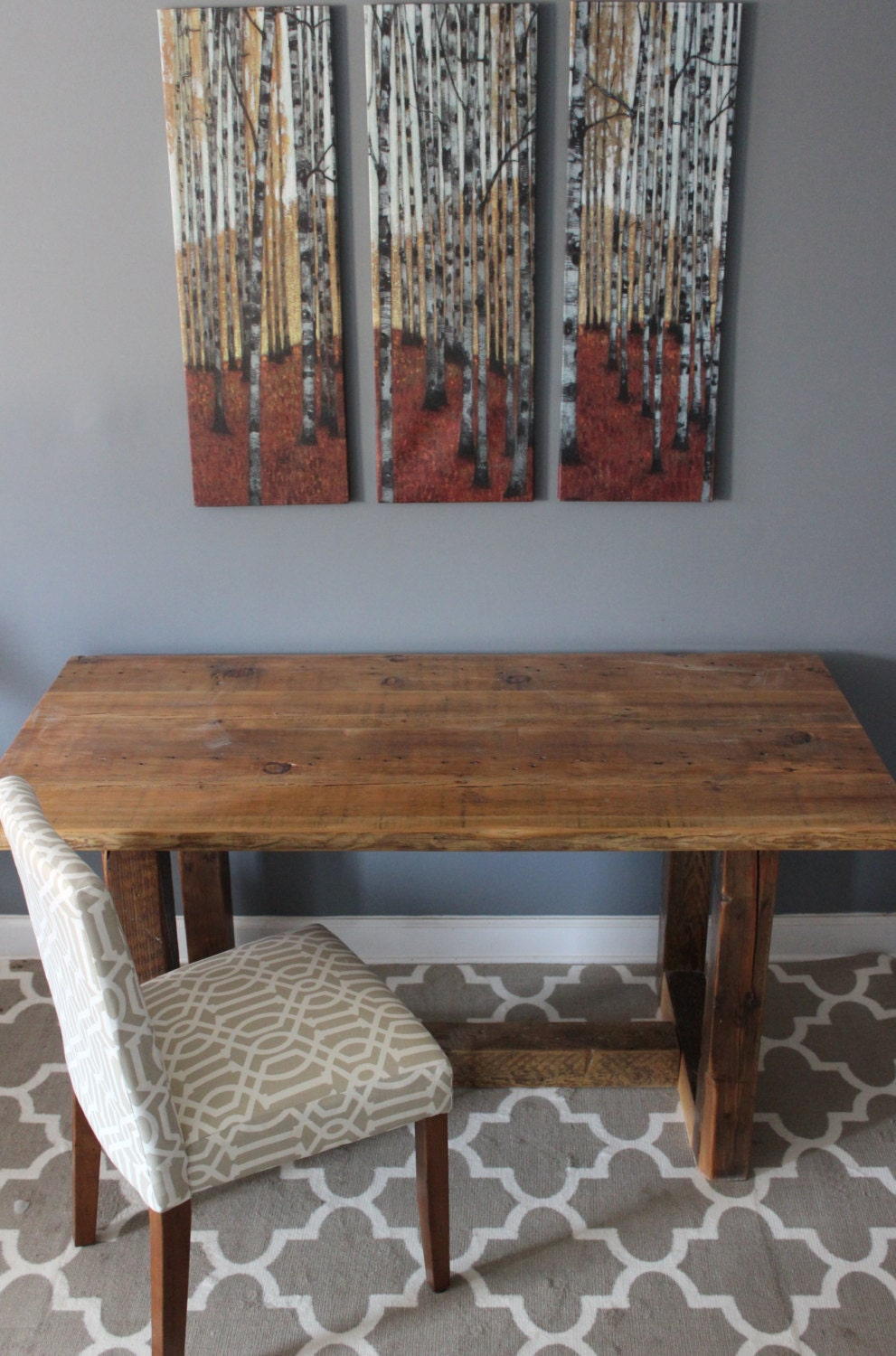 Farmhouse Table Reclaimed Wood Dining Table Kitchen By DendroCo