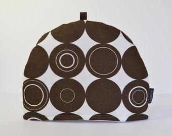 Scandinavian fabric Circles print Tea Cosy - Origo