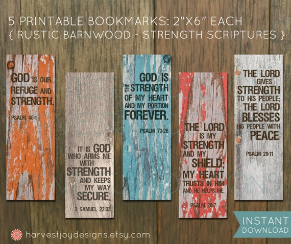 Products Bookmarks Design Inspiration And: Inspirational Printable Bookmarks Scripture By