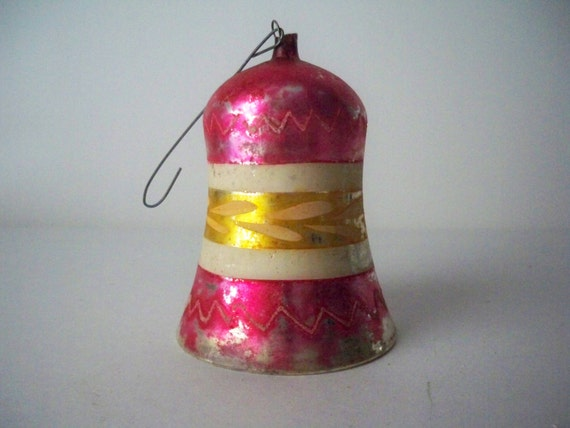 1930s Vintage Christmas Bell Ornament for a by ...