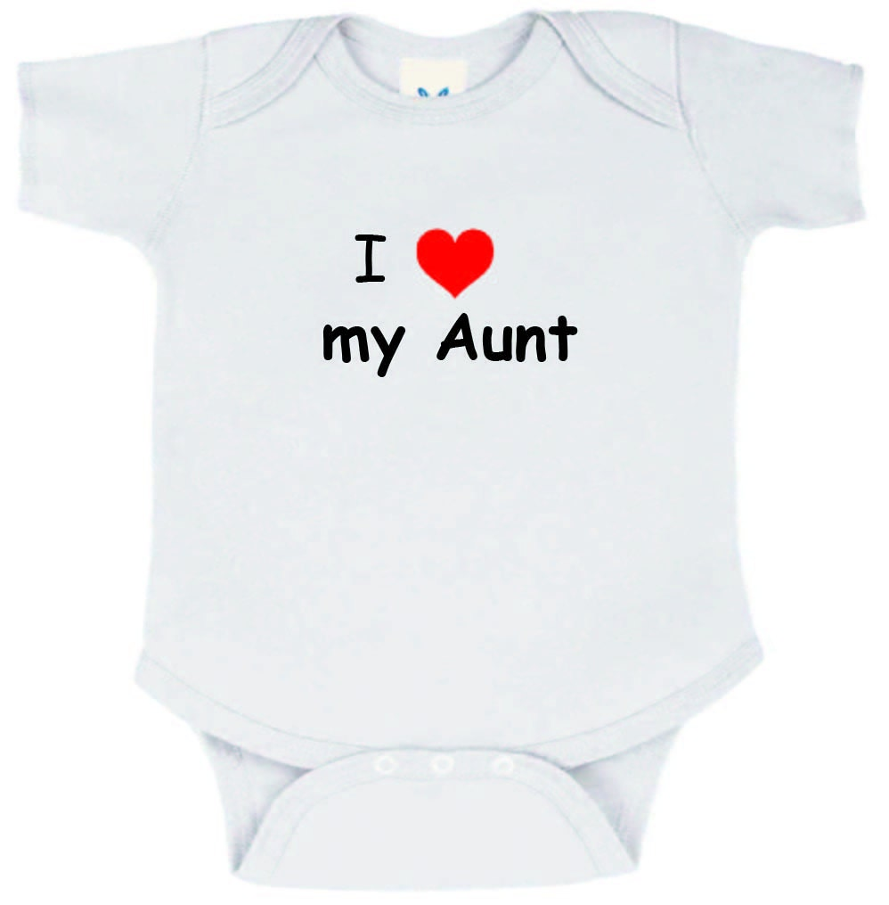 i love my aunt onesie by knackmaker on etsy