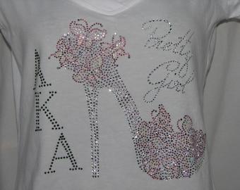 AKA Pretty Girl T Shirt