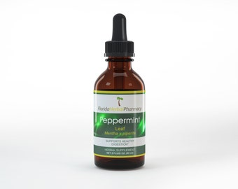 Peppermint Tincture / Extract 2 oz., Florida Herbal Pharmacy