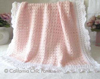 Knitting Pattern For Angel Blanket : Baby shower Knitting Kits & How To Tutorials Etsy Studio
