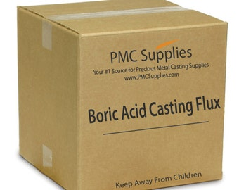 BULK Boric Acid Powder Deoxidizing Casting Flux for Melting Refining Brazing Precious Metals Gold Silver Copper FREE SHIPPING