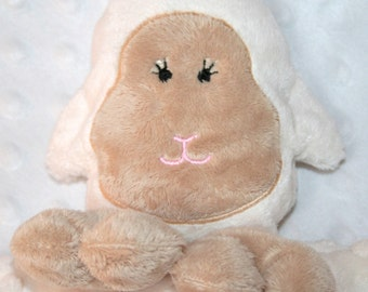 Hand-crafted Lamb Woobie - Minky Security Blanket