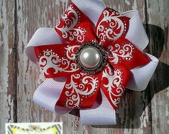 Ribbon Flower Bow