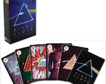 Pink Floyd - Dark Side of the Moon - Playing Cards - FREE SHIPPING