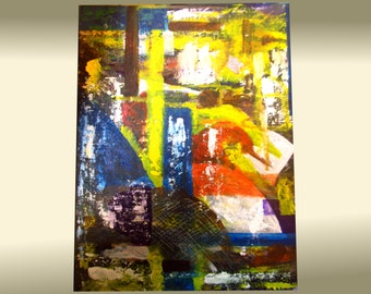 Abstract painting - original modern wall art , canvas painting