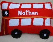 bus cushion personalised