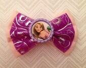 Rapunzel Inspired Disney Bound Bow (tangled)