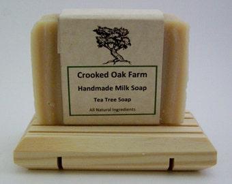 Handmade Tea Tree Milk Soap