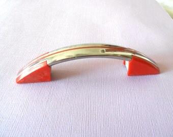Retro Style 50u0027s 60u0027s Chrome Cabinet Handle