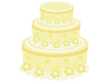 Wedding cake clipart digital clip art  - wedding graphics - Beautiful Bride - wedding invitation - Clip Art  - Personal and Commercial Use