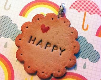 Happy Biscuit Charm