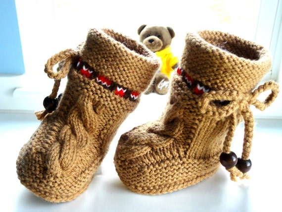 P A T T E R N Baby Booties Baby Shoes Pattern Knitted Baby Booties Pattern Baby Booty Baby Uggs Patterns Baby Boots ( PDF file )
