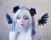 Steampunk Wings (Gothic, feathers, cosplay, angel wings )