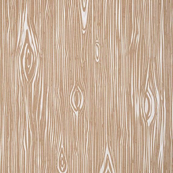 Faux Bois Wood Gift Wrap Sheets - Petite Party Studio
