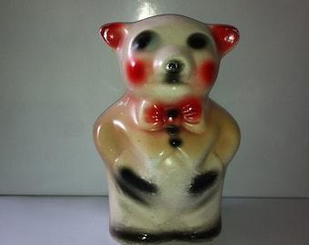Vintage Chalkware Piggy Bank