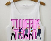One Direction Twerk Team Crop Top