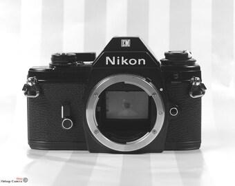 Nikon EM 35mm SLR Camera Body- vintage camera - Nikon 35mm vintage Camera