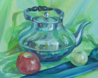 Pleasant Day -  Art Oil Still Life Painting