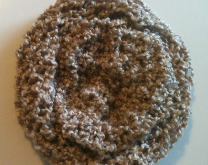 CLEARANCE! oatmeal knit hat