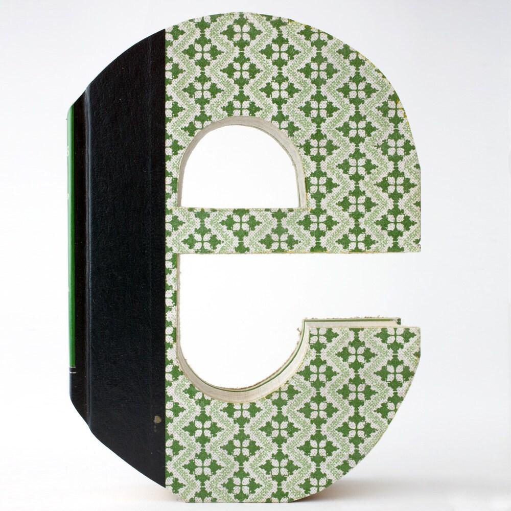 alphabet e book letter lowercase custom cut