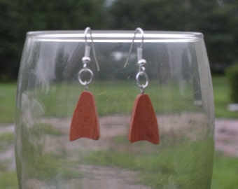 Classic Cherry Freeform earrings