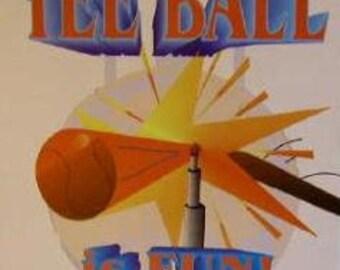 Teeball Is Fun! Personalized Book