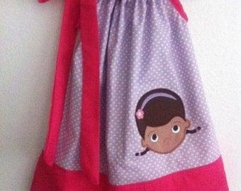 doc mcstuffins pillow case dress
