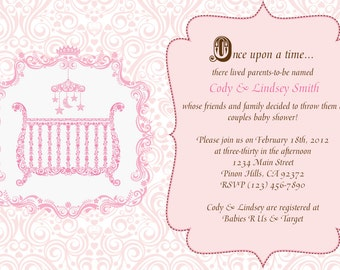 Fairytale Baby Shower Invitation